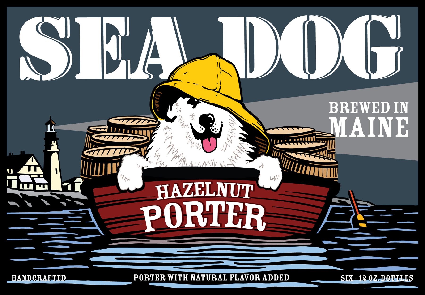 Sea Dog Beer Graphic